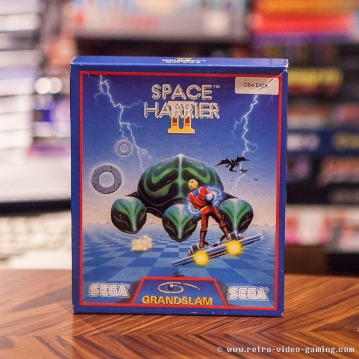 C64 Floppy Space Harrier